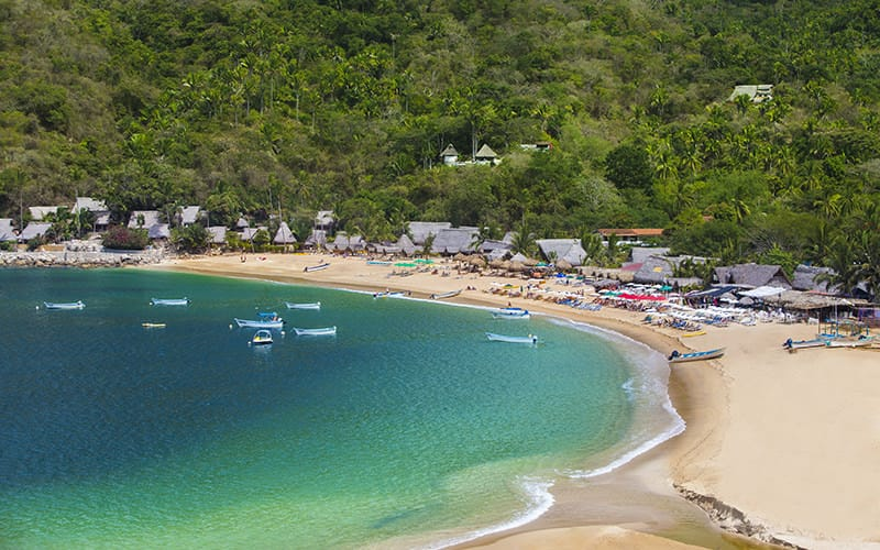 yelapa beach near puerto vallarta|