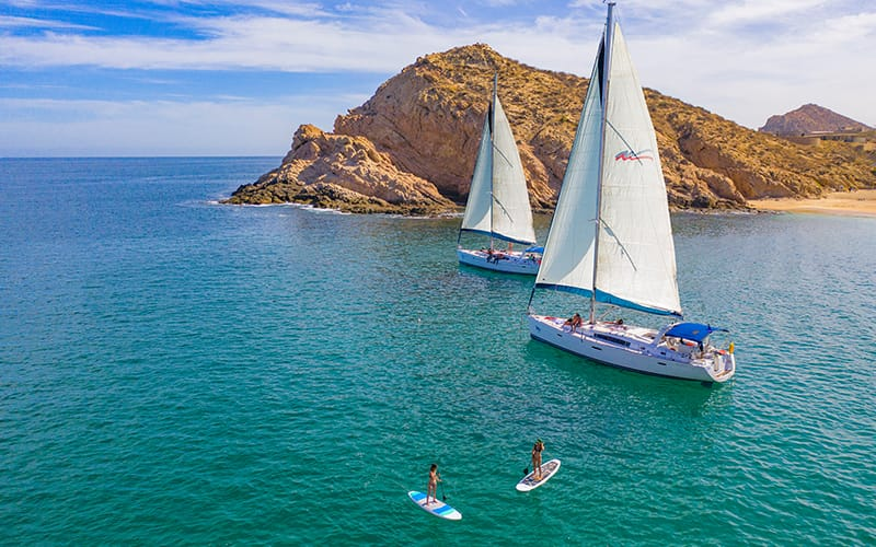 luxury sail boat in cabo|
