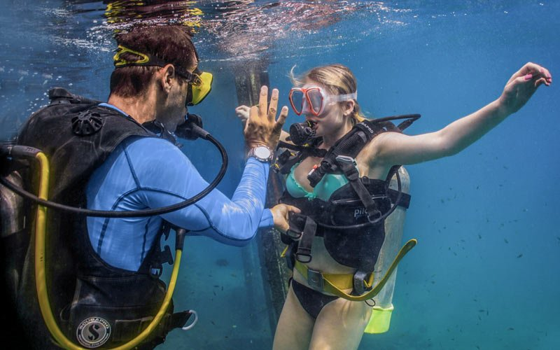 Learn to scuba dive in Puerto Vallarta|