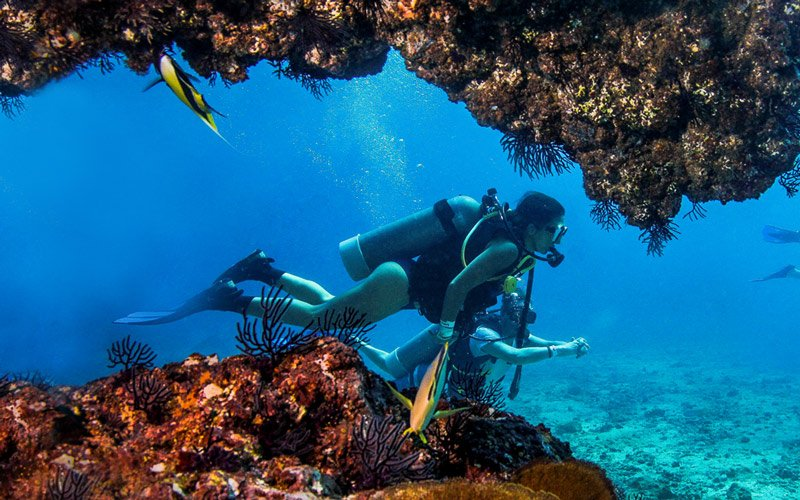 Go scuba diving in the Marieta Islands|