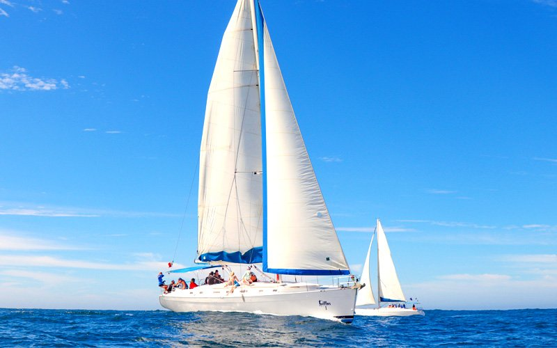 cabo adventures private luxury sail boat|