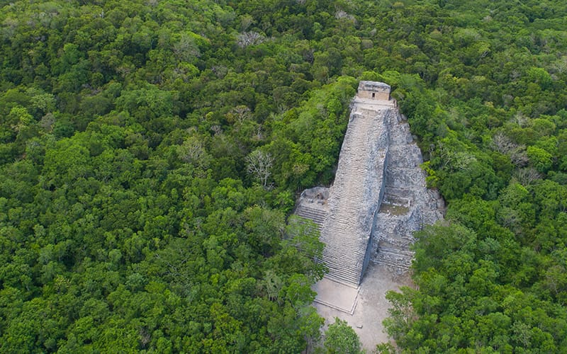 Exclusive Day tour of Coba Ruins with Cancun Adventures|