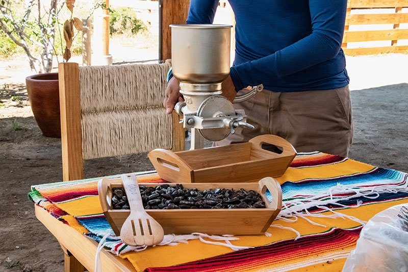 artisanal chocolate preparation in cabo adventures