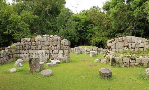 House of Metates at Chichen Itza in Mexico