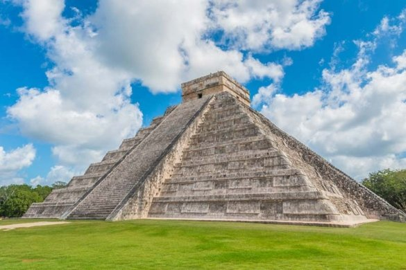 "The Pyramid of Kukulcán was nicknamed ""El Castillo"" or ""The Castle"" by the Spaniards who briefly conquered Chichen Itza in 1532"