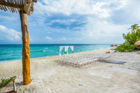 playa del carmen destination wedding venue